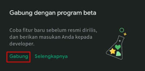 Mendaftar Program Beta Instagram di Google Play
