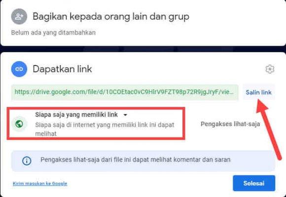 Cara Menyimpan File Google Agar Bisa Di Download Android Komputer