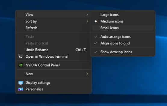 Cara Memperbesar Dan Memperkecil Icon Aplikasi Windows di laptop pc
