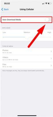 non aktifkan download