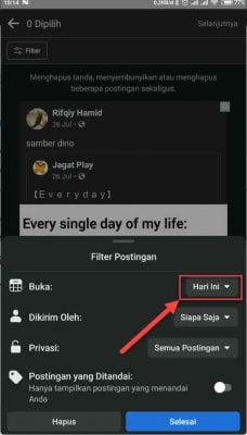 pilih icon tanggal hari ini