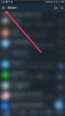 pilih menu 3 garis di pojok kiri atas