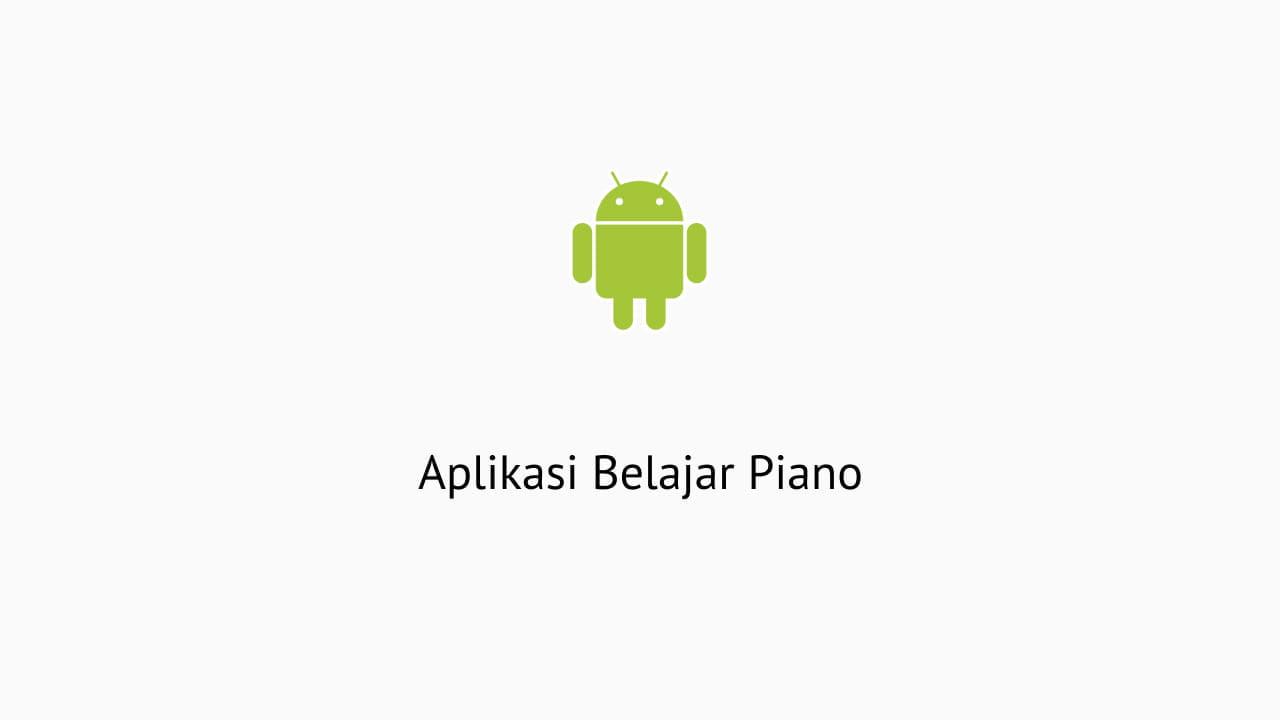 Aplikasi Belajar Piano