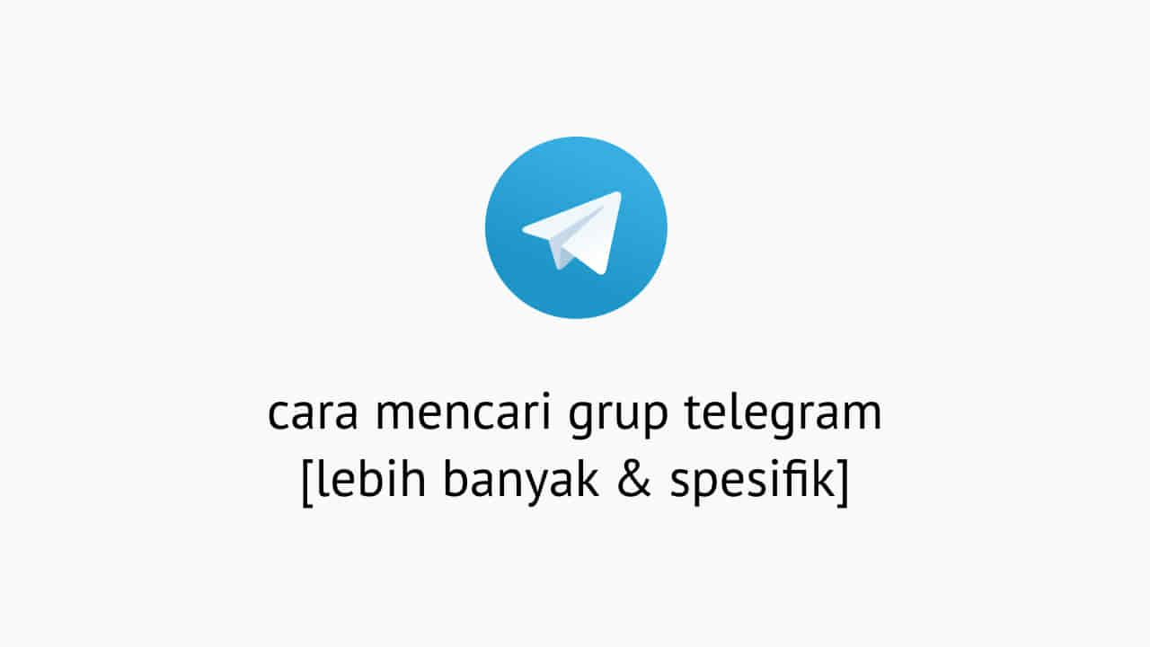 Cara Mencari Grup Telegram