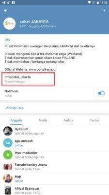link grup telegram